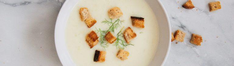 高蛋白質鷹嘴豆濃湯